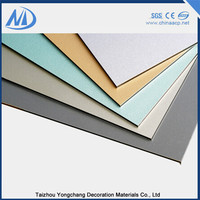 Excellent smoothness exterior decorative wall panels
