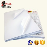 shipping label A5 Sticker Offset Adhesive packing Label 210*148.5mm art label A4 2X1 for Laser/inkjet printer A5 size