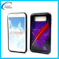 New Fashion hot selling ultra-thin design mobile phone case cover for samsung Galaxy E7