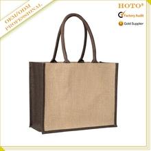 jute shopping bag wholesale jute gift bag jute bag with zipper