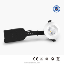Waterproof Bathroom LED Downlight IP44 6.5W White and Silver