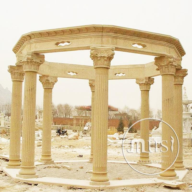 home decoration luxury marble beautiful Marble Gazeebo