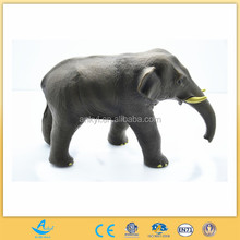 Top selling wild animal figure toy soft pvc simulated africa elephant toy