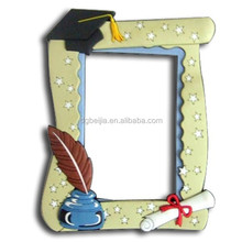 2014 new product modern creative animal shaped silicone photo frame for wedding photos BJ-W0080049