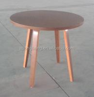 Restaurant Furniture Type commercial wood veneer top coffee table