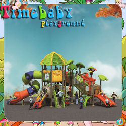 T-KP5018A outdoor play gym for kids, playground outdoor