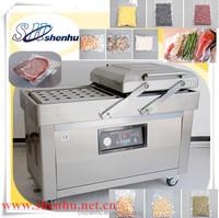 Shenhu stianless steel vegetables fruit meat food rice vaccum packing machine
