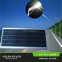 High Power IP65 Factory Price solar power energy 20 30 60 watt led street light with solar panel