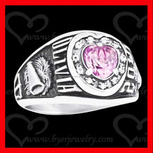 wholesale class ring school ring university ring for student graduation