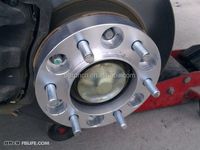 Wheel Spacers Adapters PCD 5x108mm 63.4 mm center bore 20,25mm thick for Volvo XC60, C30 series and jaguar XJ, XK, XF