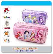 princess chilren pen bag bright drill pencil cases