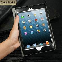 Diamond Metal Frame Leather Case For iPad Mini/Leather Case For iPad mini