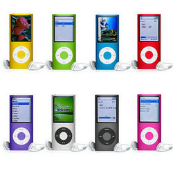 """Wholesale 100% NEW STYLE 4GB 1.8"""" 3TH FM MP3 MP4 PLAYERS"""