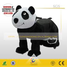 walking animal ride on toy/animal panda ride model/animal ride amusement park ride