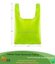 Reusable Folding Handbag Storage Shoulder Totes Beach Shopping Travel Bag Pouch enviro bag