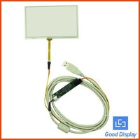 5 inch 4 wire resistive touch screen panel resistive touch