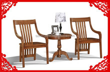 solid teak wood chair base for dining room / living room