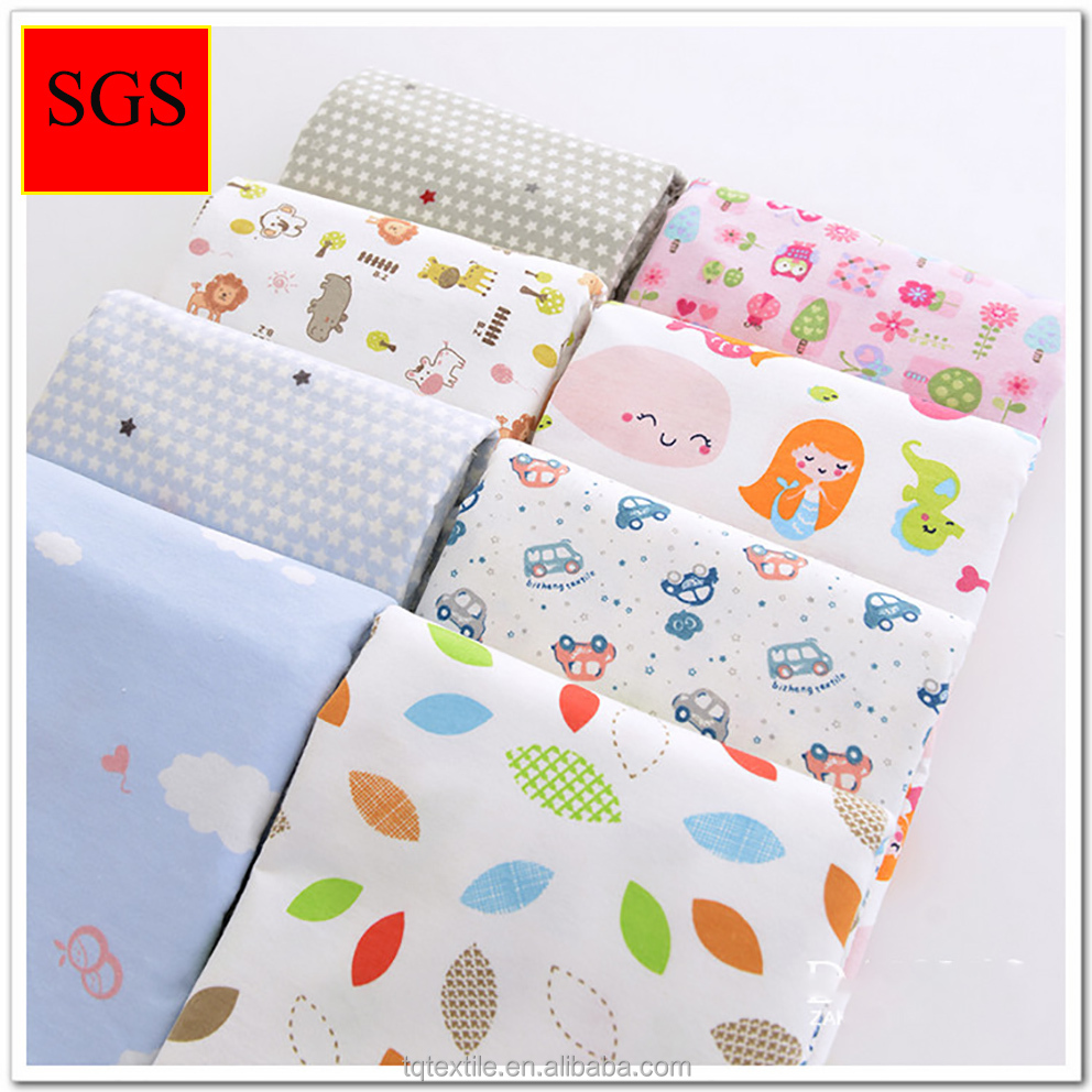 Snuggle bulk flannel fabric for baby cloth bed sheets for Cheap baby fabric