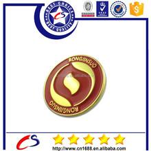Hot sale custom metal pin badge making metal bedge