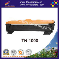 (CS-TN1000) BK laser toner cartridge ceramic toner for Brother TN1000 HL1110 DCP1510 MFC1810 MFC1815 (1500pages)