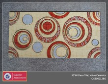 Circle Pattern Design, 30x60 Decorative Wall,