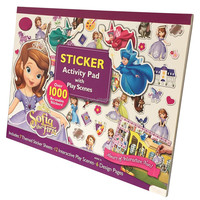 Custom Printed Drawing Book with Removable Stickers