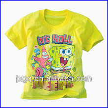 Child clothing manufacturer in china wholesale cheap cartoon tshirt