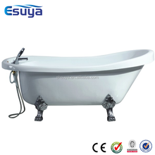 52 inch bathtub free stand acrylic soaking bathtub with legs