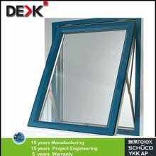 quality single glazed top hung aluminium window with economic price