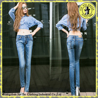 D Jeans Washed Jeans Plus Size Ripped Skinny New Pattern Jeans