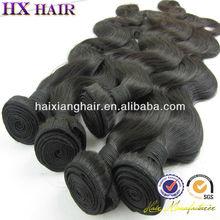 Haixiang Hair , New Style Natural Looking Hair Products Malaysian Virgin Hair 7A