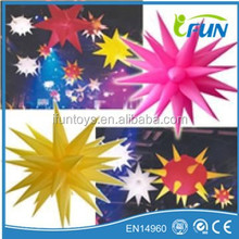 popular inflatable stars decoration/lighting inflatable birthday/party/stage decoration