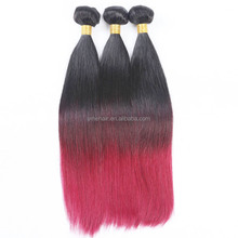2014 best selling products wholesale two tone 1b 27 ombre color hair weaves sew in human hair weave ombre hair