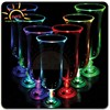 bar accessary decorating idea led hurricane glass plastic for party, acrylic champagne glass