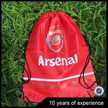 2015 new cheap plain drawstring bag for nylon drawstring bag
