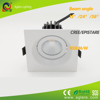 3 years warranty LED Square recessed ceiling downlight