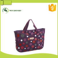 Trendy neoprene tote bag