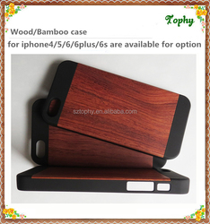 Factory wholesales wooden mobile phone case
