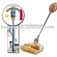 telescopic fork, dinner fork