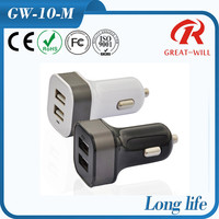 usb universal portable dual port car charger for samsung phone series