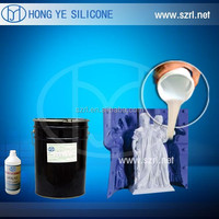Transparent mold making silicone rubber for plastic toy