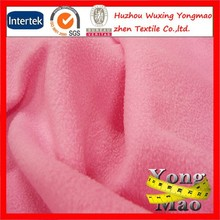 polar fleece brushed polyester fabric anti pill pattern and double sided