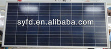 220W poly solar panel with TUV IEC CE RoHS certified