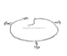 Wholesale Alibaba Stainless Steel Anchor Bracelet Jewelry for Unisex Simple Designs