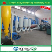 Made in china hot gas flow type sawdust 11kw low noise drying equipment with continuous work