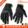 Rigwarl High Quality Custom Leather Cheap Red Motorcycle Gloves from Yiwu China