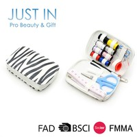 Zebra-stripe professional household complete sewing kit