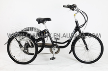 2015 new model 7 speeds wholesale price with CE approved adult electric tricycle/electric cargo tricycle