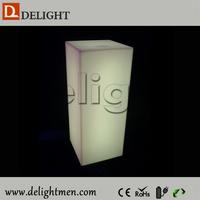 Top sale lighting up remote control 16 colors changing led cylinder light