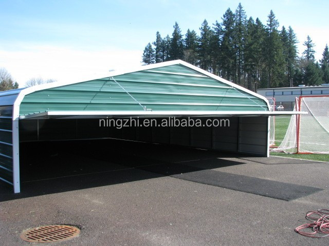 Used Portable Garages And Shelters : Portable folding garage storage shelter used carports for